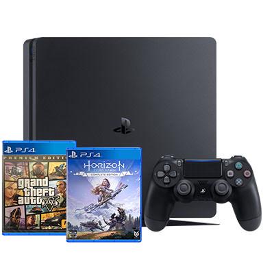 Máy PS4 Slim 1TB + 2 Game Chính Hãng