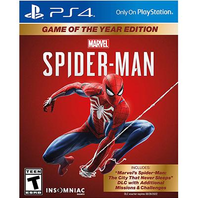 Đĩa Game PS4 Spider Man 2018 - 2nd