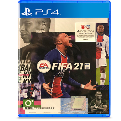 Đĩa Game PS4 Fifa 21 Hệ Asia
