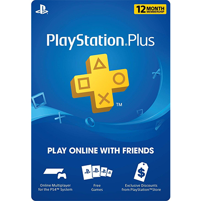 Thẻ Playstation Plus Membership 12 Tháng Hệ Singapore