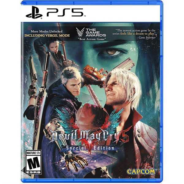 Đĩa Game PS5 Devil May Cry 5 Special Edition - Playstation 5