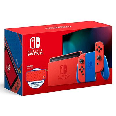Máy Nintendo Switch - Mario Red & Blue Edition