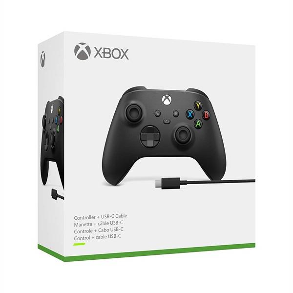 Tay cầm Xbox series X|S + USB Cable - Black