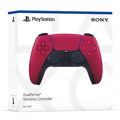 Tay Cầm PS5 DualSense Cosmic Red - Hàng Nhập Khẩu