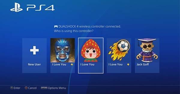 Cách tạo tài khoản chơi game PS4
