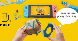 Giới Thiệu Nintendo Labo Variety Kit Cho Máy Nintendo Switch Sắp Ra Mắt