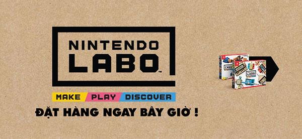 Nintendo Labo Variety Kit Cho Máy Nintendo Switch